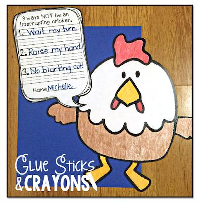 glue sticks crayons interrupting chicken an update. Black Bedroom Furniture Sets. Home Design Ideas