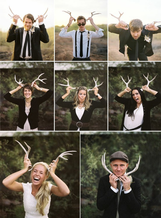 how to incorporate antler details in your wedding by oh lovely day