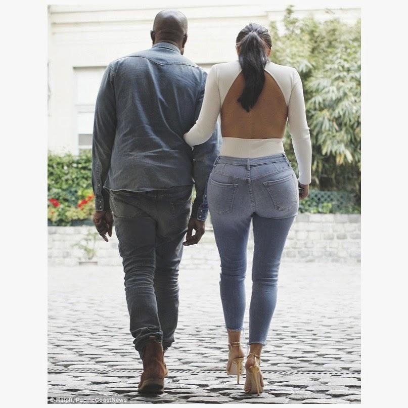Kim Kardashian Kanye West Denim Kimye