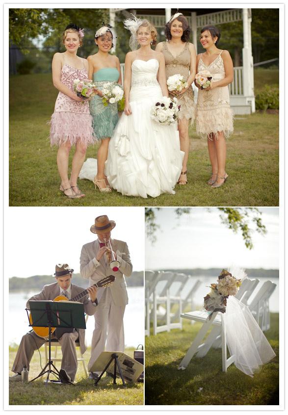 rivernorthLove: Great Gatsby Inspired Wedding