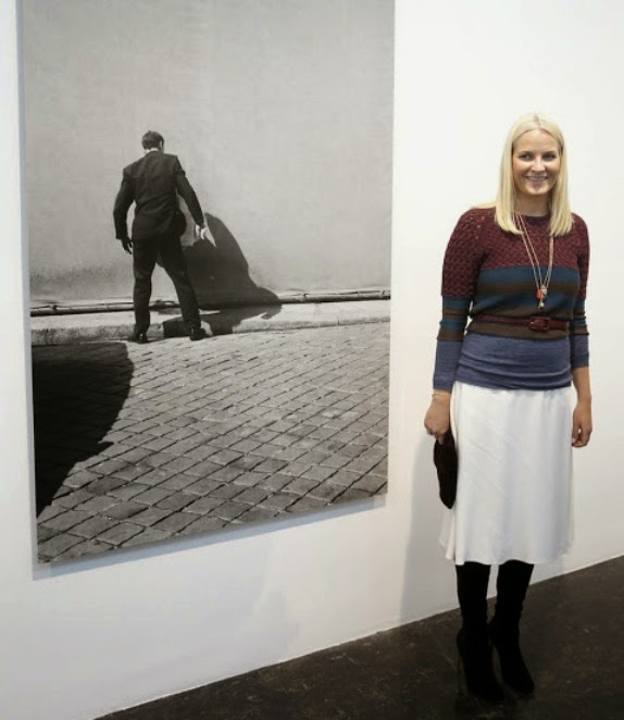 Princess Mette-Marit Attends The Opening Of A Photography Exhibition