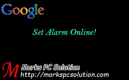 Google Alarm Clock