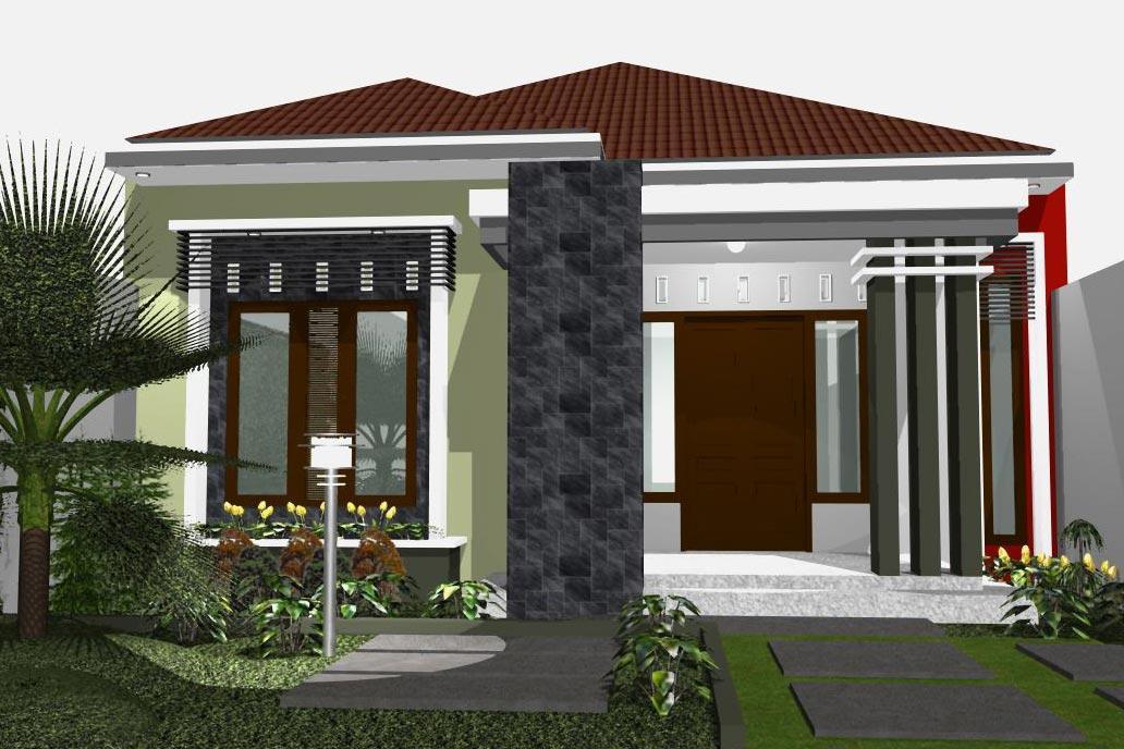 Gambar Rumah Minimalis  Lantai Tampak Depan Dan Warna Cat Pilihan Desainrumahnya Com