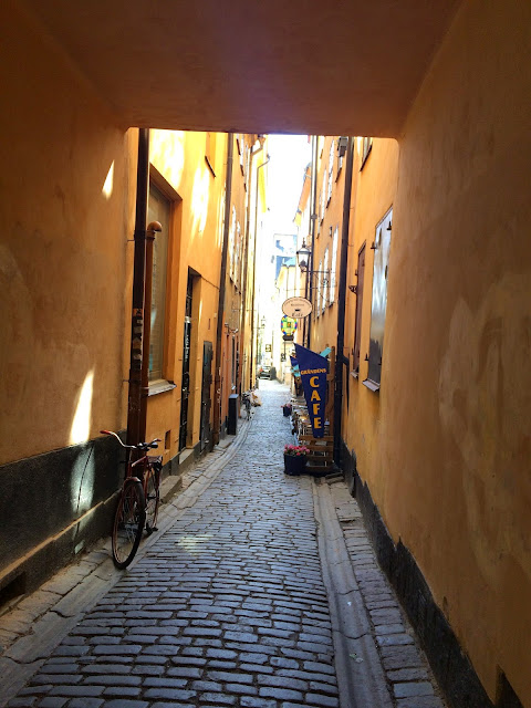 old town stockholm streets