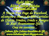 Nossa Fun Page do Facebook