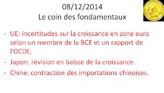 actualités bourse 08/12/2014