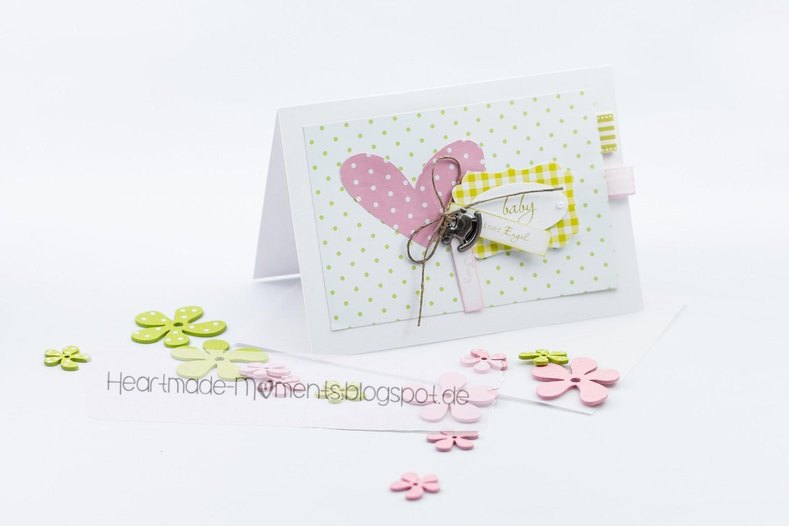 Babykarte »Kleiner Engel«