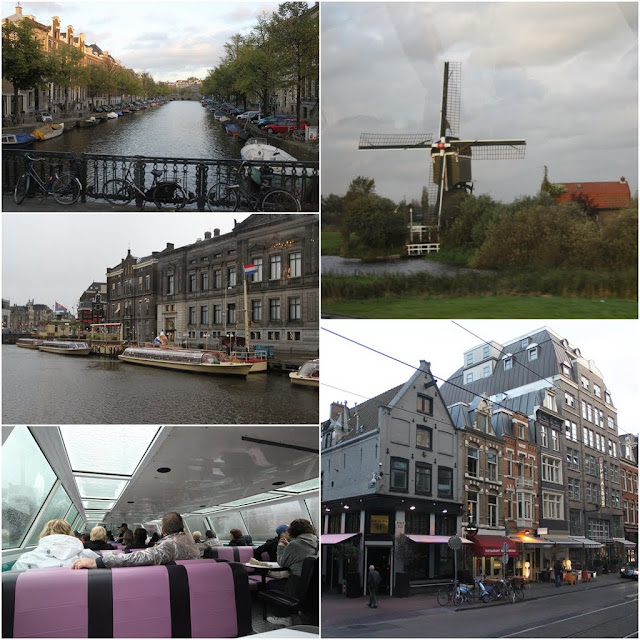The unique icon identity of Netherlands from the Canals of Amsterdam, Windmill to the beautiful architectural buildings in Amsterdam, Netherlands