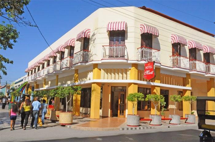 Hotel Martí, en Guantánamo
