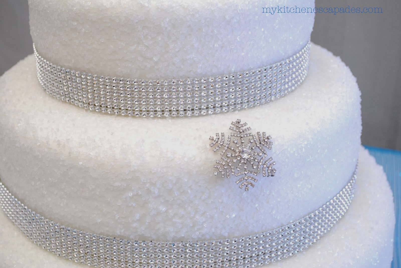 DIY Wedding Cake -