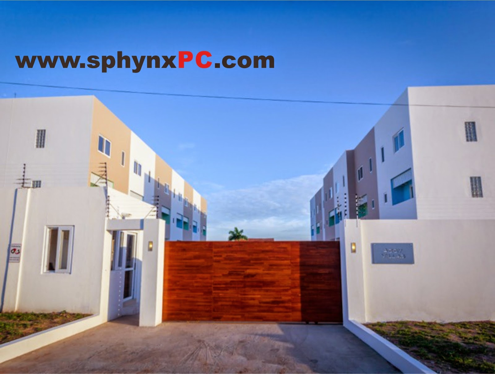 bedroom town houses to let east legon accra