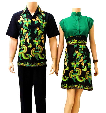 dress batik couple