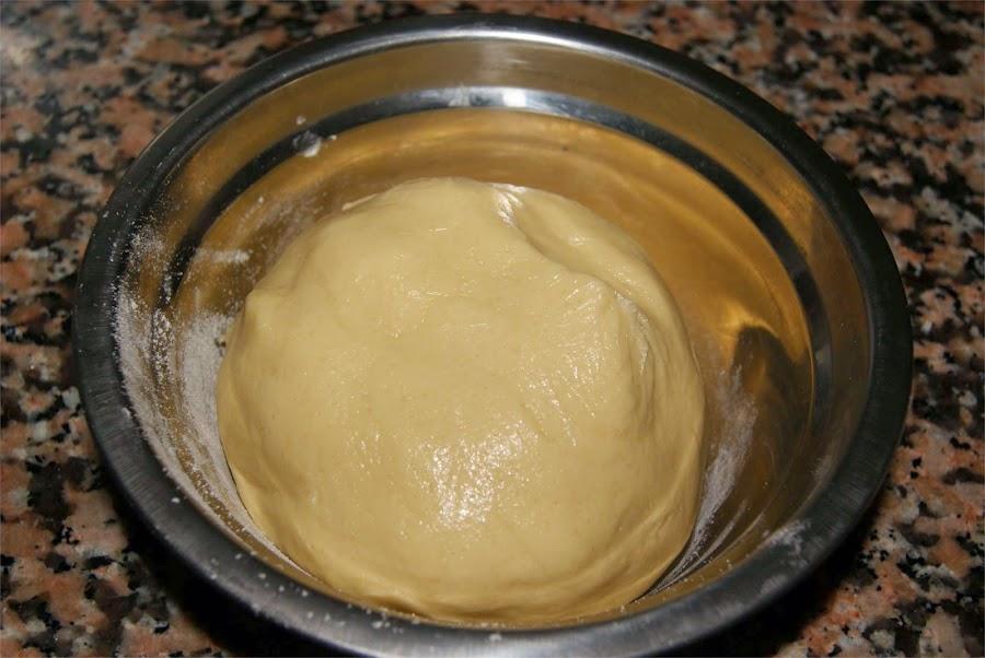 Pastas con mermelada paso 3