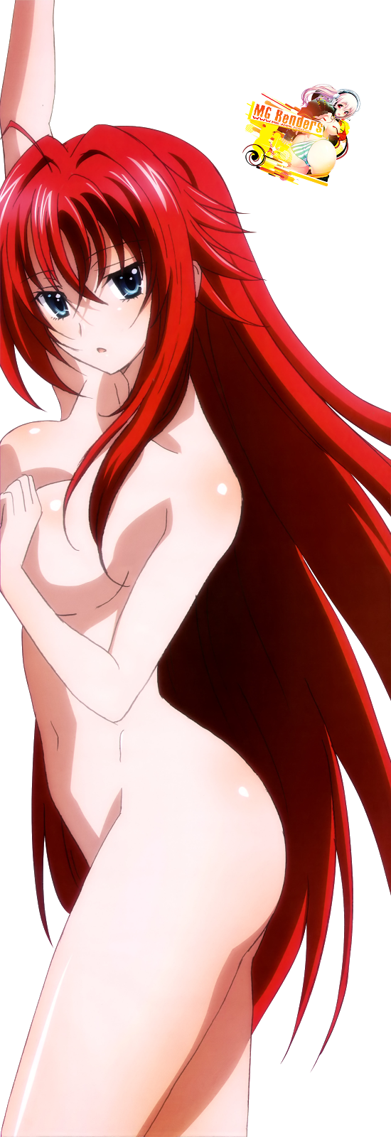 Tags: Anime, Render,  High School DxD, ハイスクールD×D, Haisukūru D×D,  No bra,  Rias Gremory, リアス・グレモリー,  PNG, Image, Picture