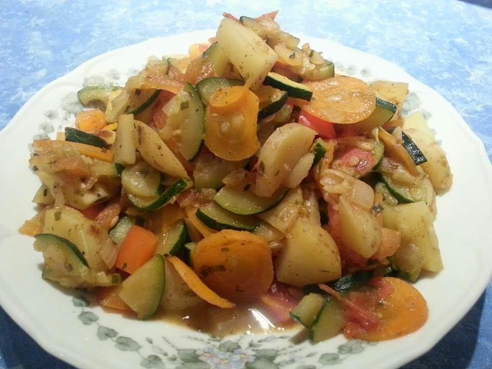 Lecker und kalorienarm kochen gem se k uter pfanne for Kochen kalorienarm