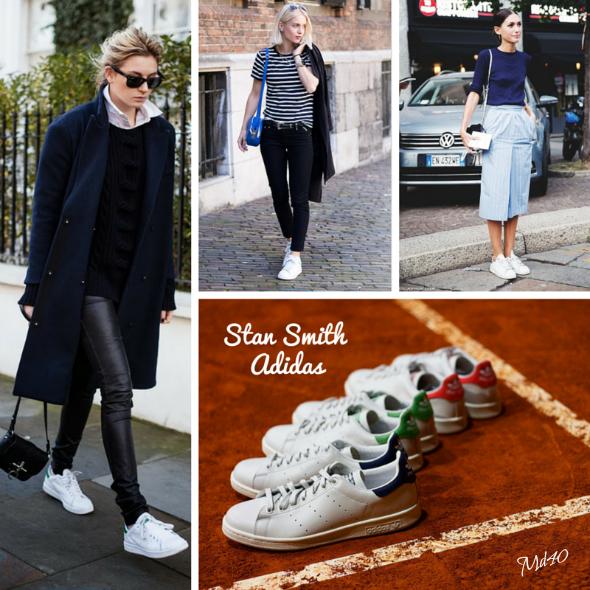 tendencias sneakers se llevaran esta primavera  verano 2015 Stan Smith Adidas