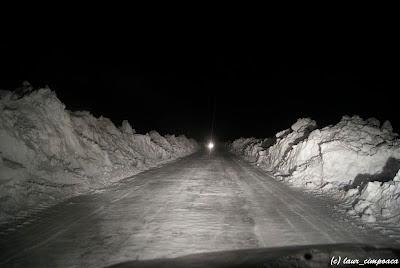 zapada mare iarna nameti pe drum