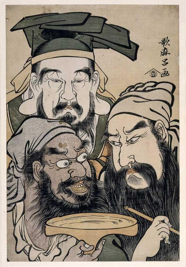 สามพี่น้องร่วมสาบาน เล่าปี่ กวนอู เตียวหุย