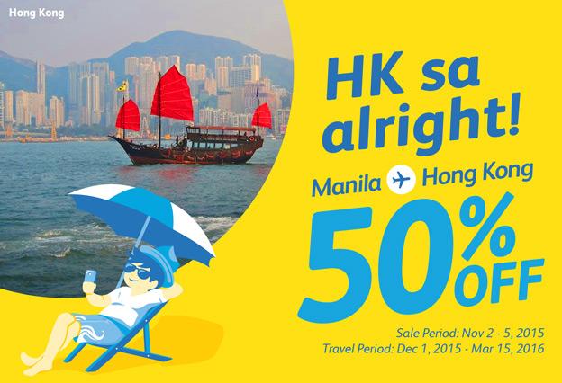 Cebu Pacific Manila Hong Kong Promo