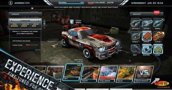 Download Game đua xe:  Death Rally - Đua xe bắn súng