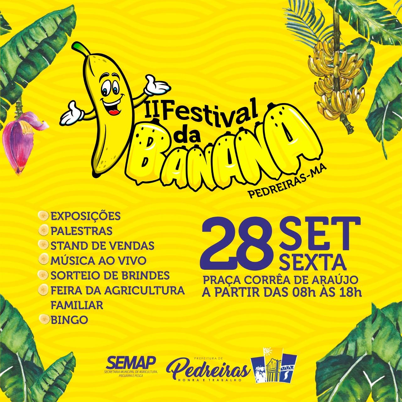 II FESTIVAL DA BANANA