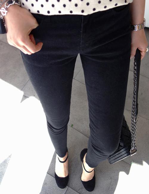 Stretch Slim Fit Pants