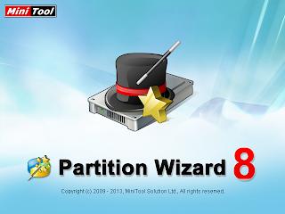 تحميل برنامج تقسيم وإدارة وتعديل الهارد ديسك الخفيف والمجاني MiniTool Partition Wizard Home Edition 8.1.1