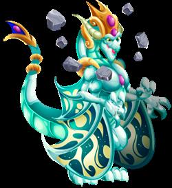 imagen del dragon ancestral cosmoprime de dragon city
