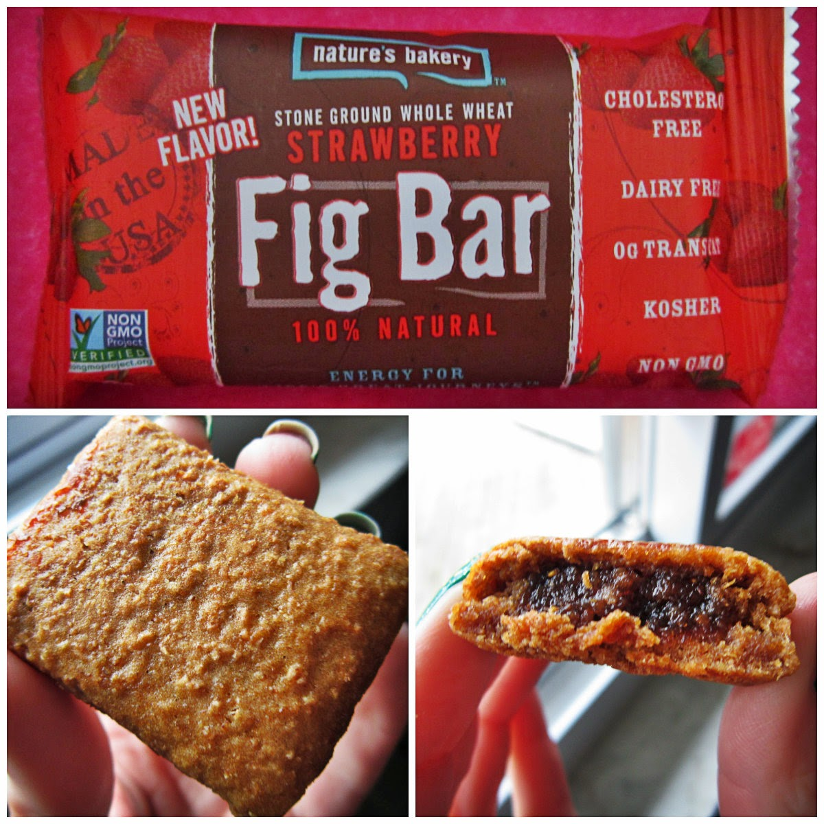 Nature's Bakery All Natural Stone Ground Whole Wheat Strawberry Fig Bars