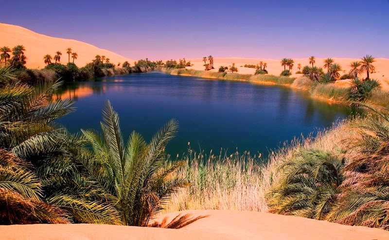 ubari lakes the beautiful oasis in the sahara desert never ever seen before. Black Bedroom Furniture Sets. Home Design Ideas