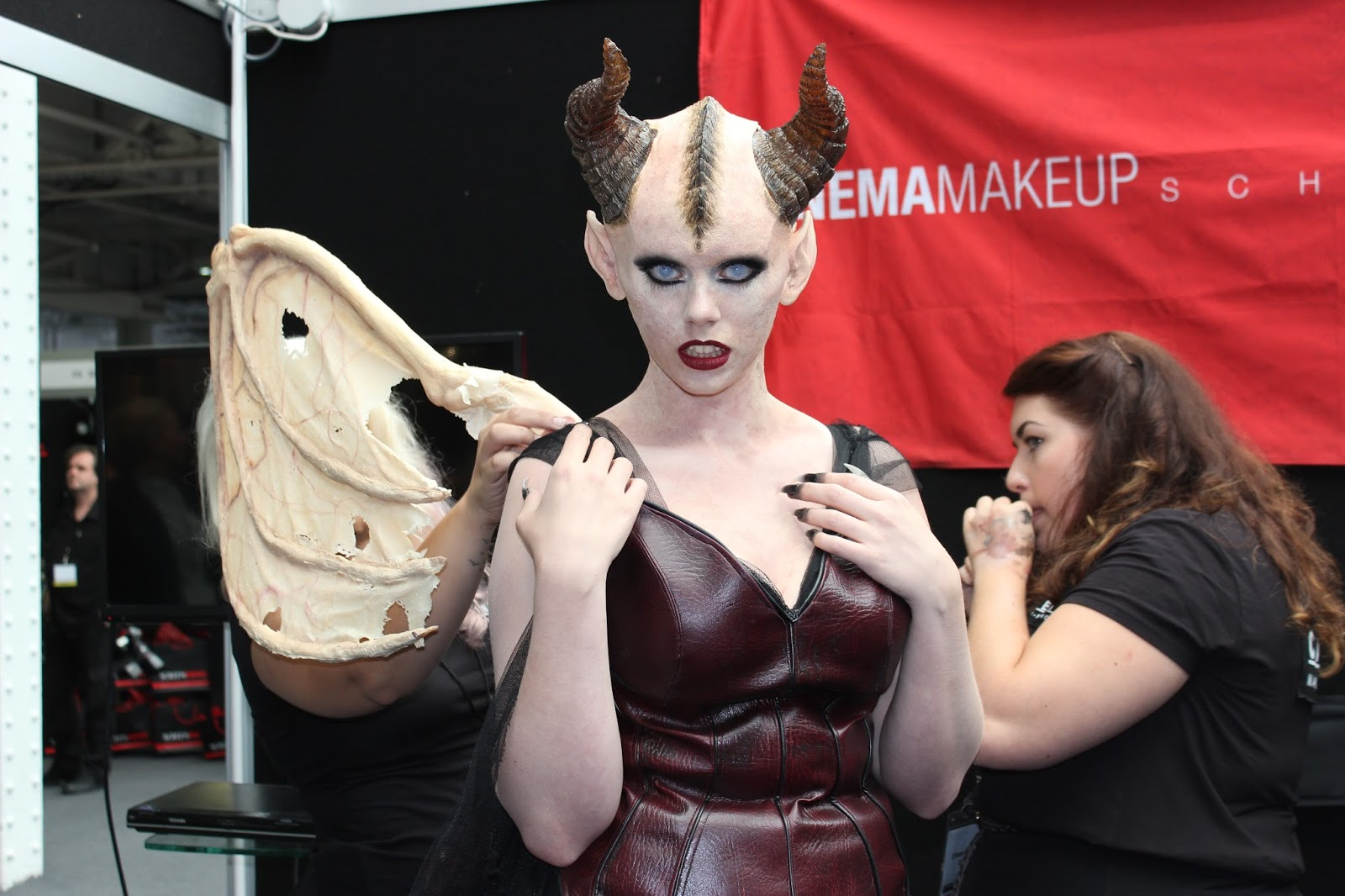 IMATS london 2014 winged lady