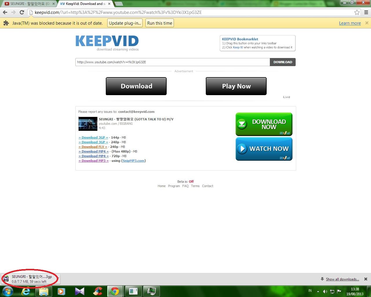 download video di youtube selain keepvid