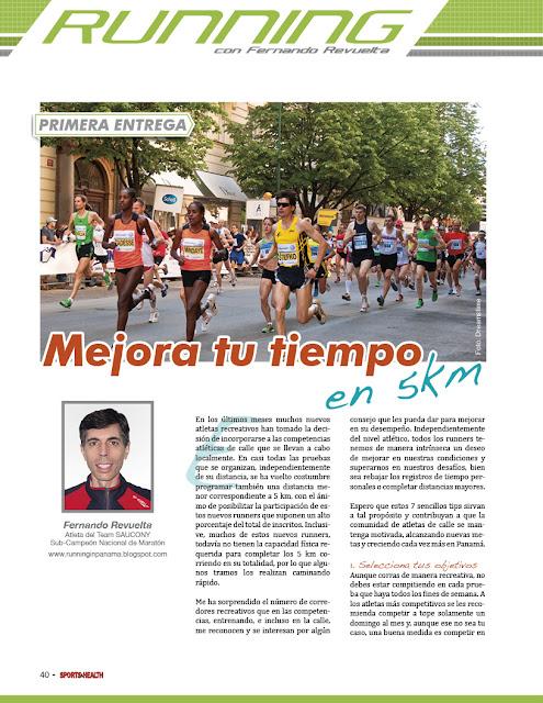 Plan entrenamiento 5km