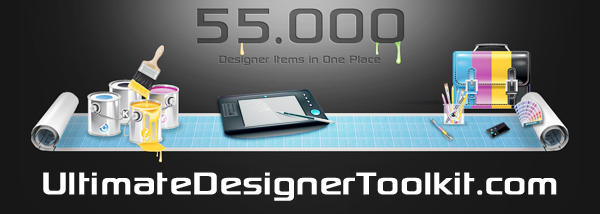 Photoshop+Vector+Design+Toolkit Win over 55,000 design items from UltimateDesignerToolkit.com