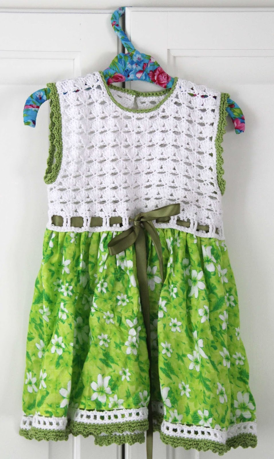 crochet dress baby lace