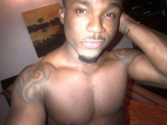 Hmmm, he was in love after all. See Iyanya's Yvonne Nelson tattoo