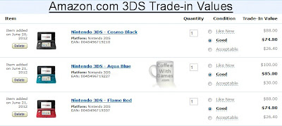coffee with games current 3ds trade in values gamestop. Black Bedroom Furniture Sets. Home Design Ideas