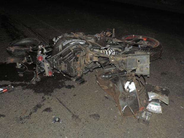 Motociclista morre e passageira fica ferida após acidente na BR-020 (Foto: Sigi Vilares/ Blog do Sigi Vilares)
