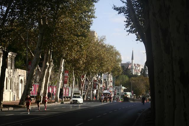 Beşiktaş during Istanbul Eurasia Marathon