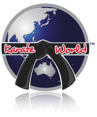 karate world logo