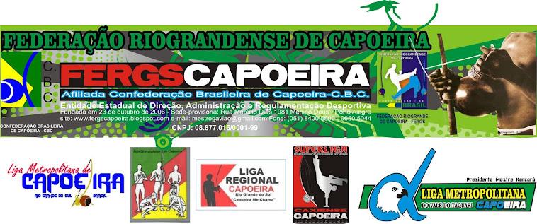 FEDERAÇÃO RIOGRANDENSE DE CAPOEIRA - FERGSCAPOEIRA - PRESIDENTE GESTÃO MESTRE GAVIAO