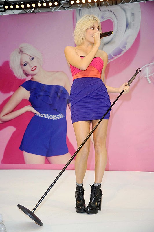 Pixie Lott Performing at Lipsy Launch in Manchester