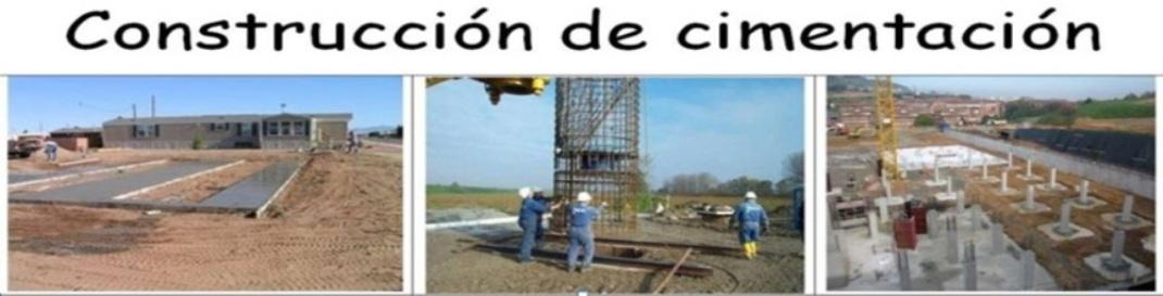 CONSTRUCCIÓN DE CIMENTACIÓN
