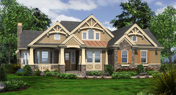 Craftsman Style House Plans for Homes