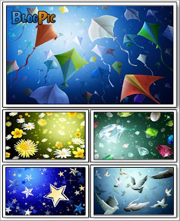 colourful cg wallpapaer