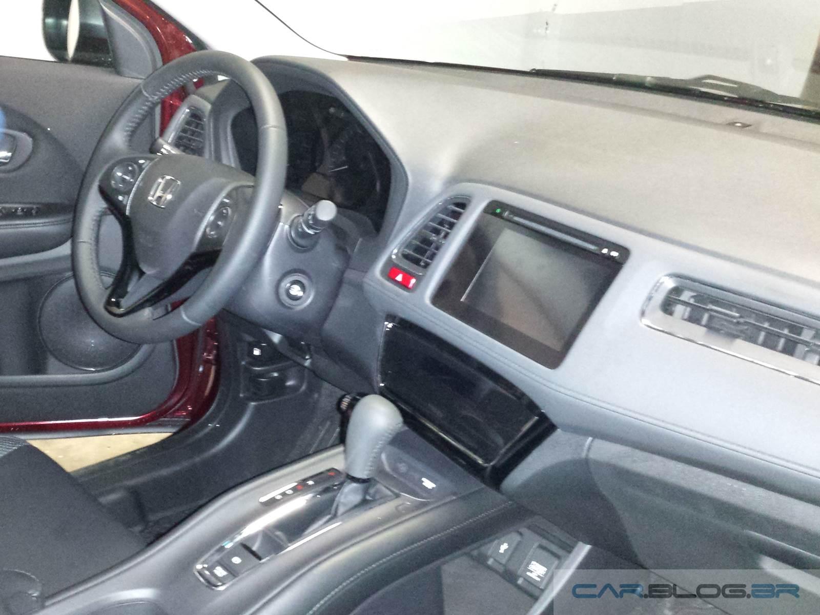 Honda HR-V EXL Automático - interior