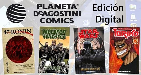 Planeta DeAgostini Cómics se apunta al mercado digital