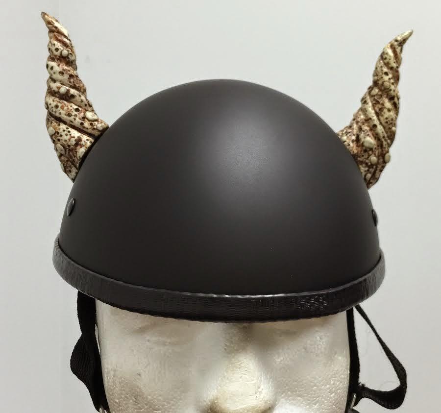 Motorcycle Helmet With Bull Horns Motorcycle Helmet Bull Horns