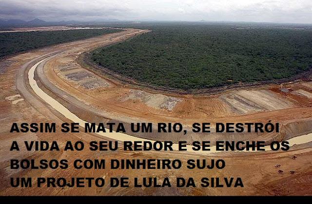 Crime nacional, Lula e a Transposição do Rio São Francisco Canal-da-transposi%c3%a7%c3%a3o-I