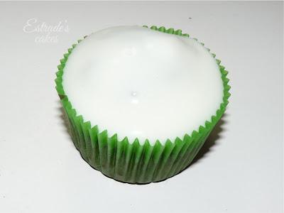 receta de cupcake vainilla-chocolate con crema de coco - 3
